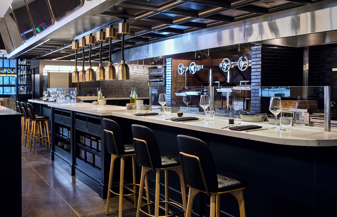 kimpton denver citizen rail restaurant open kitchen seating